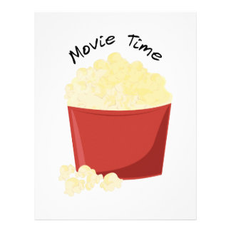 Movie Time Letterhead Template