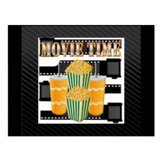 Movie Time Postcard