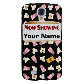 Movies and Popcorn Customizable Samsung Galaxy S4 Covers