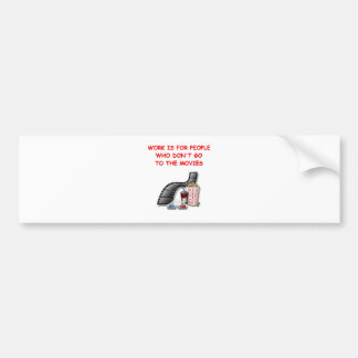 movies bumper stickers