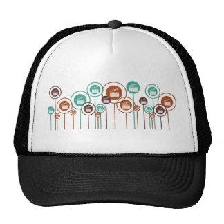 Movies Daisies Mesh Hats