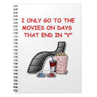 movies note books