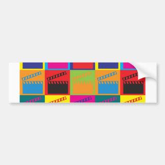 Movies Pop Art Car Bumper Sticker