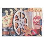 Movies, Popcorn, Film Card