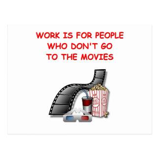 movies post card
