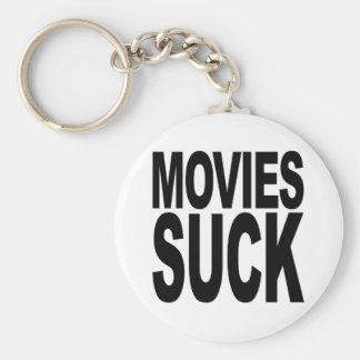 Movies Suck Basic Round Button Keychain