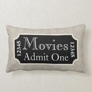 Movies Ticket Cinema Pillow