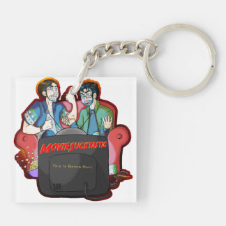 Moviesucktastic Square (double-sided) Keychain