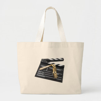 MovieTime070209 Large Tote Bag