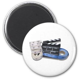 MovieTime081210 2 Inch Round Magnet