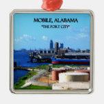 MÓVIL, ALABAMA - la ciudad de puerto Adorno De Navidad
