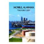 MÓVIL, ALABAMA - la ciudad de puerto Papeleria De Diseño