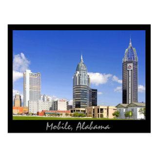 Móvil, Alabama Tarjeta Postal