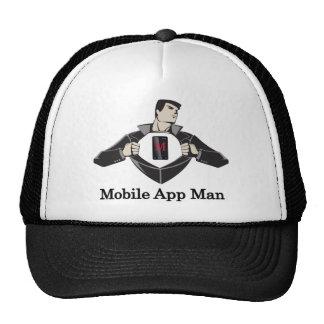 Móvil-App-Man Gorras