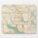 Móvil, Blakely, el Transbordador-Cantón de Messing Alfombrillas De Ratón