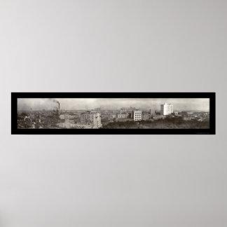 Móvil, foto 1909 de Alabama Póster