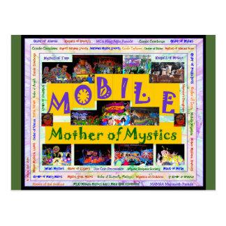 Móvil: Madre de los místicos 2 Tarjetas Postales