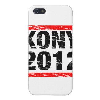 Movimiento 2012 de Kony iPhone 5 Carcasas