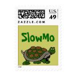 Movimiento caprichoso de la cámara lenta de SlowMo Sello