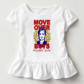 Movimiento de Hillary Clinton sobre camiseta del Poleras