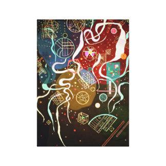 Movimiento de Kandinsky I Impresión En Lona