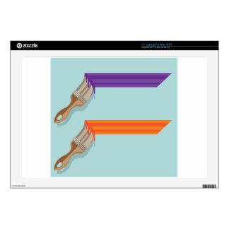 Movimiento de la brocha portátil 43,2cm skins