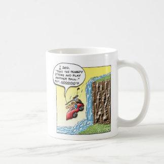 Movimiento de la pena taza de café