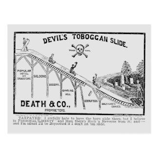 Movimiento de la templanza, 1887 postales