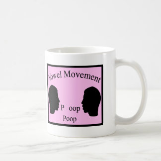 Movimiento de la vocal - rosa taza