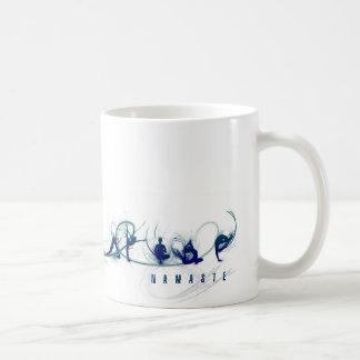 Movimiento de la yoga tazas de café
