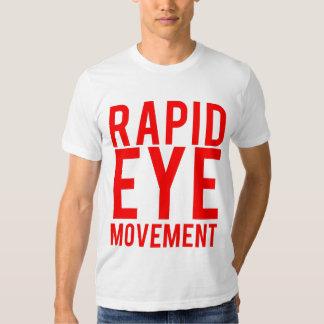 Movimiento de los ojos rápido poleras