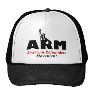 Movimiento de Refounders del americano (ARM) Gorro De Camionero