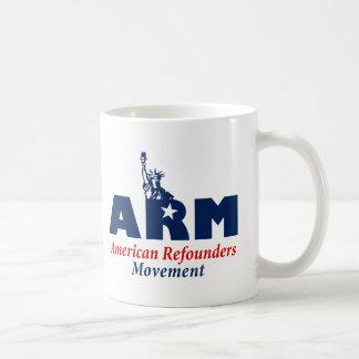 Movimiento de Refounders del americano (ARM) Taza De Café