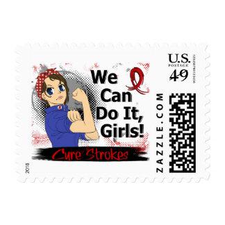 Movimiento del animado WCDI de Rosie Timbre Postal