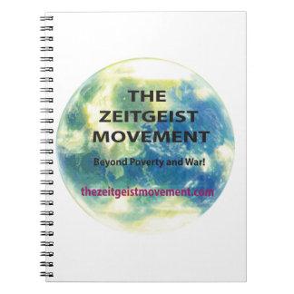 Movimiento del espíritu de la época cuaderno