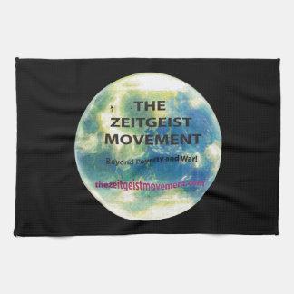 Movimiento del espíritu de la época toalla