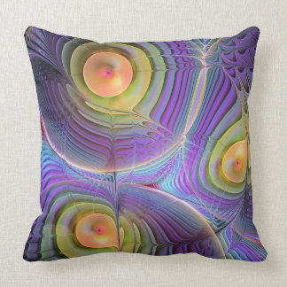 Movimiento del fractal, almohada de tiro abstracta