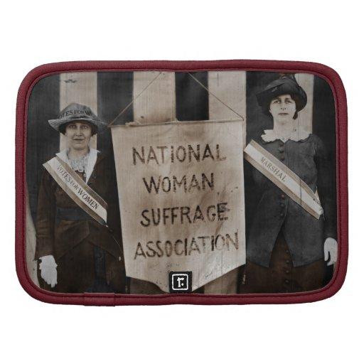 Movimiento del sufragio de las mujeres organizadores