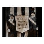 Movimiento del sufragio de las mujeres postal