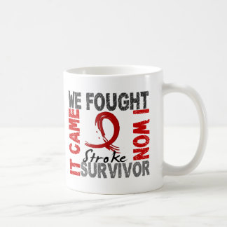 Movimiento del superviviente 5 taza básica blanca