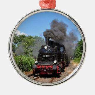 Movimiento del tren de Arnold Jung Lokomotivfabrik Adorno Navideño Redondo De Metal