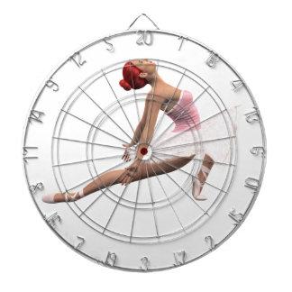 Movimiento dinámico del ballet tabla dardos