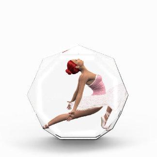 Movimiento dinámico del ballet
