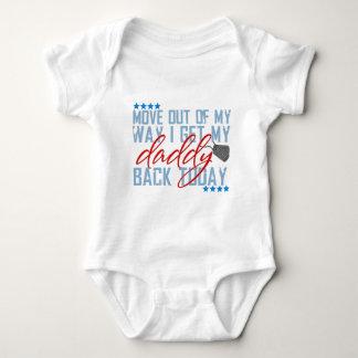 Movimiento fuera de mi manera consigo mi parte body para bebé