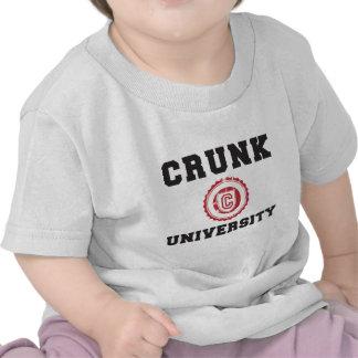movimiento hyphy de la universidad del crunk camiseta