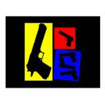 Movimiento primario de la pistola tarjeta postal