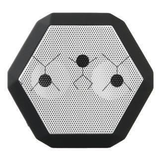 movimiento y gráficos altavoces bluetooth negros boombot REX
