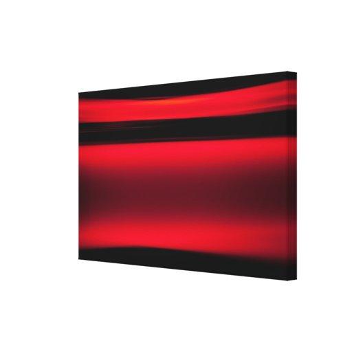 Movimientos abstractos de la luz roja lona estirada galerias