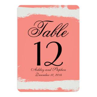 """Movimientos blancos rosados y poner crema invitación 5"""" x 7"""""""