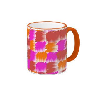 Movimientos de la brocha taza de dos colores